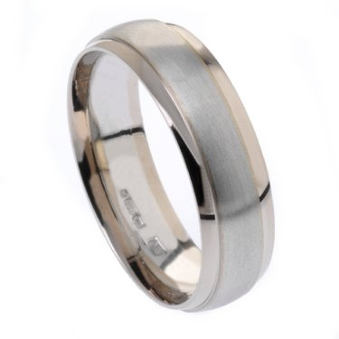 6mm Bi-Metal Plain Ring