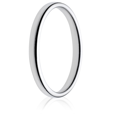 2mm Light Weight Double Comfort Wedding Ring