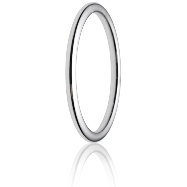 2mm Medium Weight Court Wedding Ring