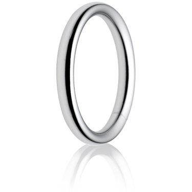 2.5mm Heavy Weight Court Wedding Ring
