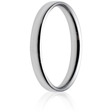 2.5mm Light Weight Court Wedding Ring
