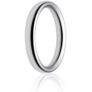 3mm Heavy Weight Court Wedding Ring
