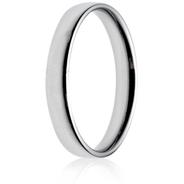 3mm Light Weight Court Wedding Ring