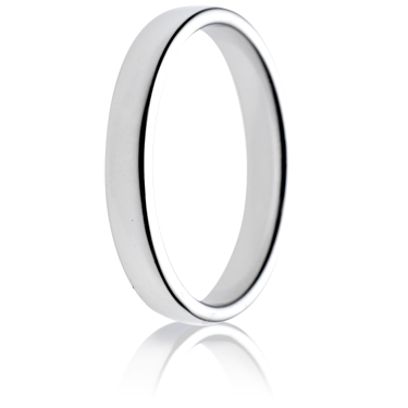 3mm Light Weight Double Comfort Wedding Ring
