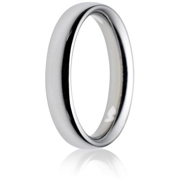 4mm Heavy Weight Court Wedding Ring