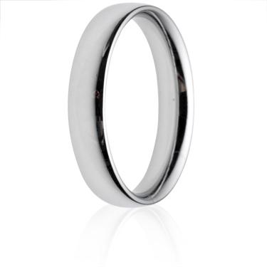 4mm Medium Weight Court Wedding Ring