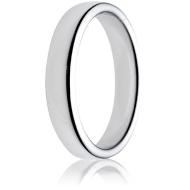 4mm Medium Weight Double Comfort Wedding Ring