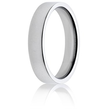 4mm Medium Weight Flat Court Wedding Ring