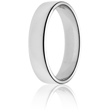 5mm Light Weight Double Comfort Wedding Ring