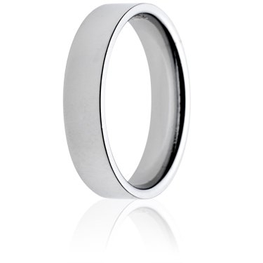 5mm Medium Weight Flat Court Wedding Ring