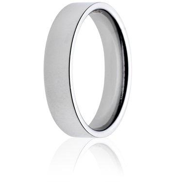 5mm Medium Weight Flat Court Wedding Ring