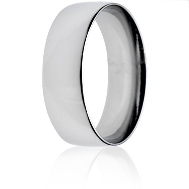 6mm Light Weight Court Wedding Ring