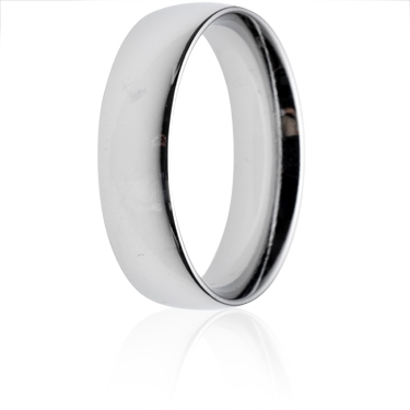 6mm Medium Weight Court Wedding Ring