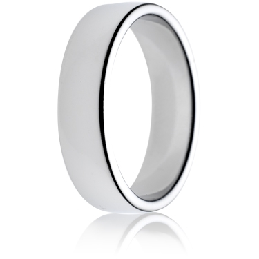 6mm Medium Weight Double Comfort Wedding Ring