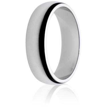 6mm Medium Weight D-Shape Wedding Ring