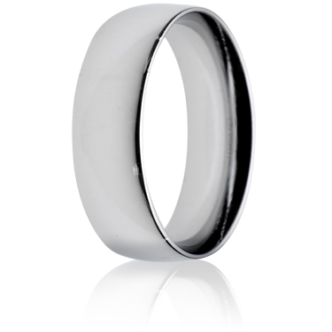 7mm Medium Weight Court Wedding Ring