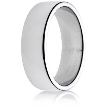 7mm Medium Weight Double Comfort Wedding Ring