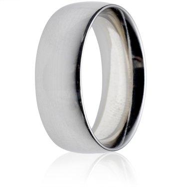 8mm Heavy Weight Court Wedding Ring