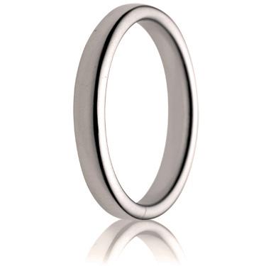 3mm Medium Weight Double Comfort Wedding Ring