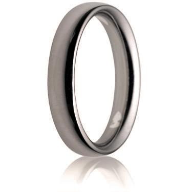 4mm Heavy Weight Court Wedding Ring