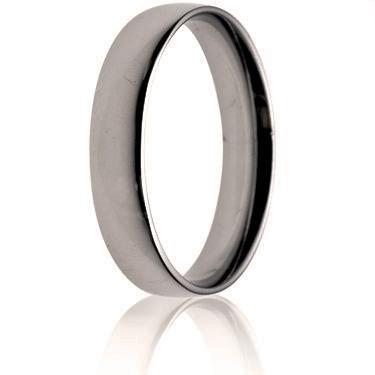 4mm Light Weight Court Wedding Ring