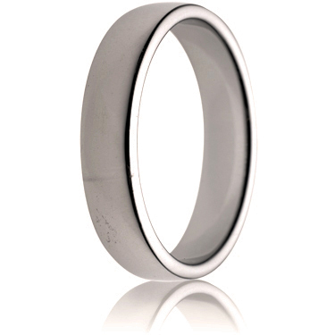 5mm Medium Weight Double Comfort Wedding Ring