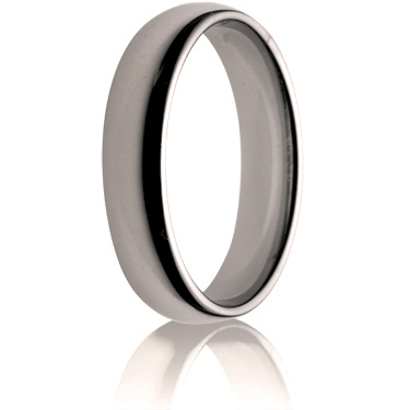 5mm Medium Weight Flat Sided Court Wedding Ring