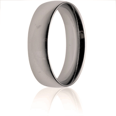 6mm Medium Weight Court Wedding Ring