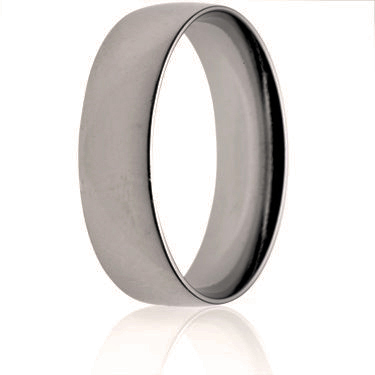 7mm Light Weight Court Wedding Ring