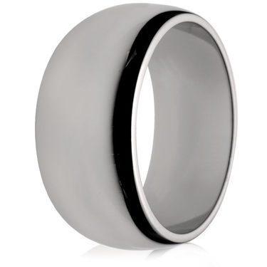 10mm Medium Weight D-Shape Wedding Ring