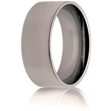 10mm Medium Weight Flat Court Wedding Ring