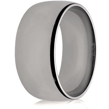 10mm Medium Weight Flat Sided Court Wedding Ring