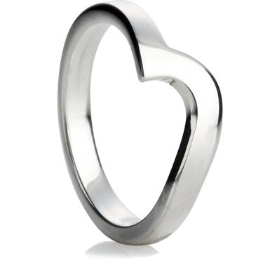 2.5mm Shaped Wedding Ring