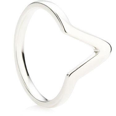 Shaped Wedding Ring