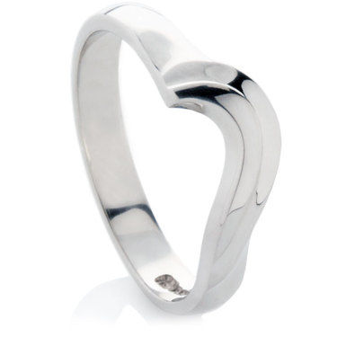 Shaped to fit wedding ring