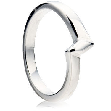 A Z-Shaped Wedding Ring