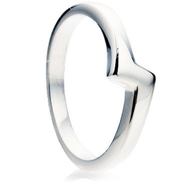 Wedding Ring in a Z-Shape