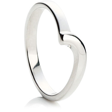 Fancy Twist Shaped Wedding Ring