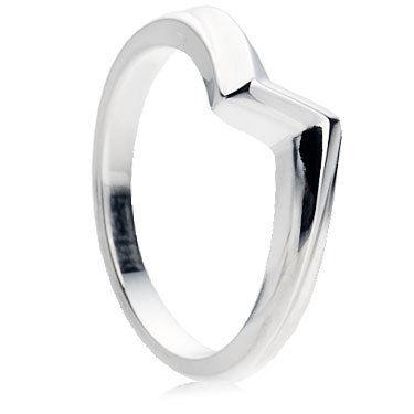 Z-Shape Wedding Ring
