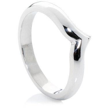 Wishbone Shaped Wedding Rings