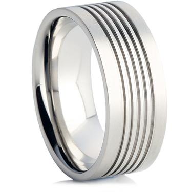 Steel Wedding Ring