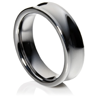 Concave Profile Tungsten Carbide Ring