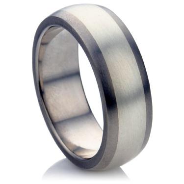 Multi Metal Wedding Ring.
