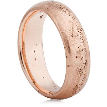 Rose Gold Decorative Wedding Ring