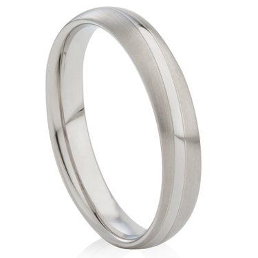 Two Tone Decorative Steel Ring