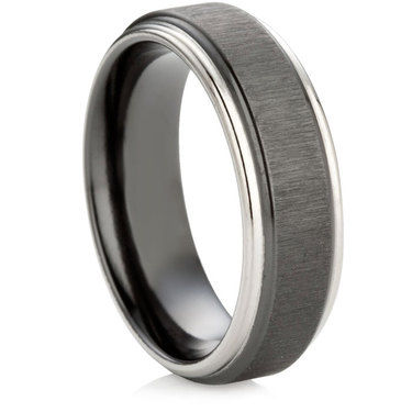 Black Zirconium Decorative Ring