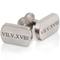 Roman Numeral Designed Titanium Cuff Links Thumbnail 1