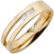Princess cut diamond set wedding ring Thumbnail 2