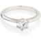 Solitaire Brilliant Cut Diamond Engagement Ring Thumbnail 1