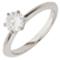 Solitaire Brilliant Cut Diamond Engagement Ring Thumbnail 3